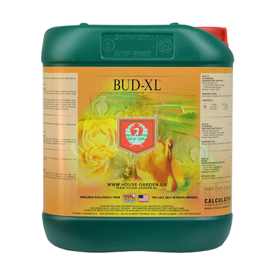 house and garden nutrients bud xl 5L