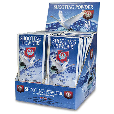 shooting powder 20 pack box open