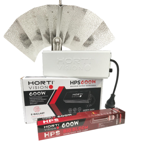 HortiVision Digital HPS Grow Light Kit