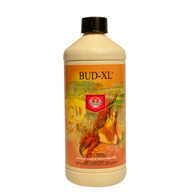 house and garden bud xl flowering additive stimulant bottle