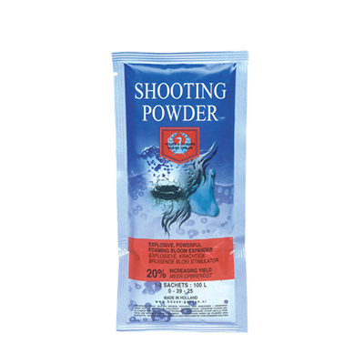 shooting powder house and garden nutrients additive