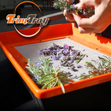 trim tray trimming flowers