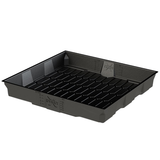 x-tray flood and drain tray black 4x4
