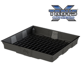 x-tray flood and drain tray with logo