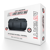 avert large duffle bag with packaging