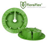 "FloraFlex- 9""-12"" ROUND FLOOD & DRIP SHIELD W/QUICKER DRIPPERS"