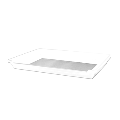 trim tray white accessory