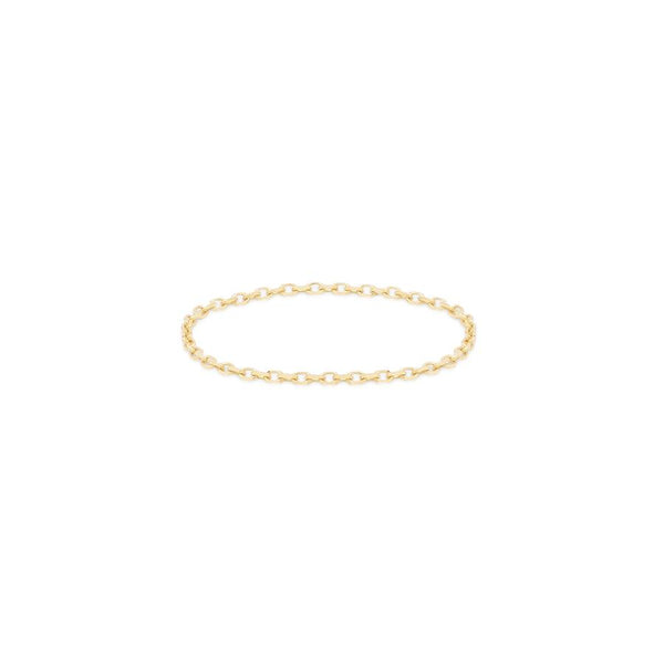 By Charlotte 14k Gold Purity Chain Ring