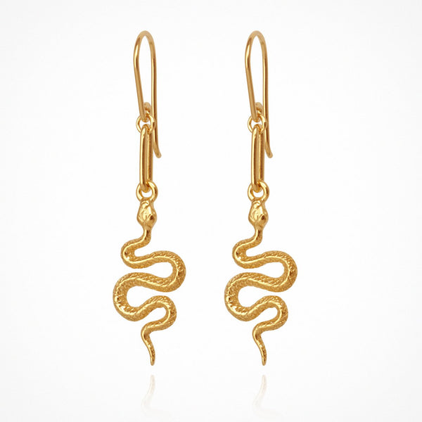 Temple of the Sun Camila earrings, gold