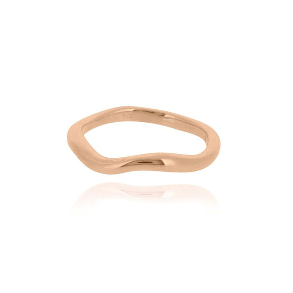 Linda Tahija Drift Ring, Rose Gold