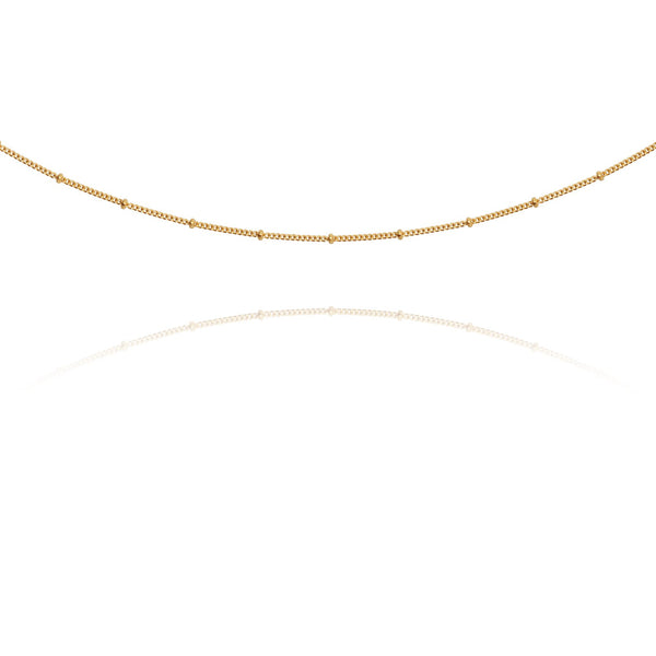 Temple of the Sun Fine Choker Chain, Gold