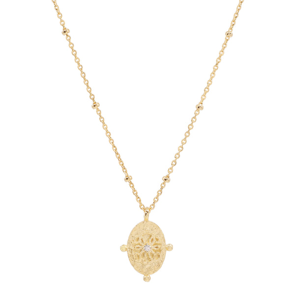 By Charlotte Path of Life Necklace, Gold