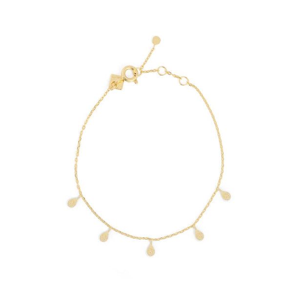 By Charlotte Grace Bracelet, gold