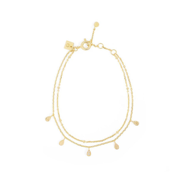 By Charlotte Illuminate Bracelet, gold
