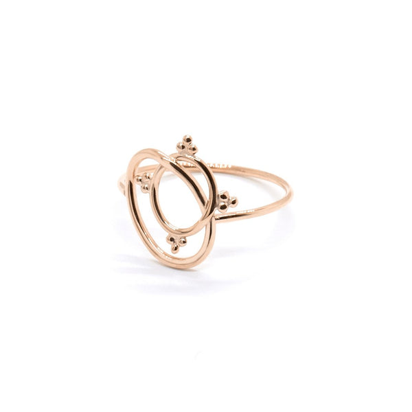 Natalie Marie Lani Ring, Rose Gold