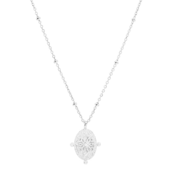 By Charlotte Path of Life Necklace, Silver