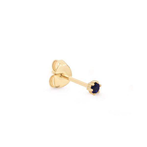 By Charlotte 14k gold Devotion single earring