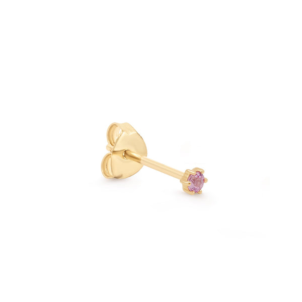 By Charlotte 14k gold Love single earring