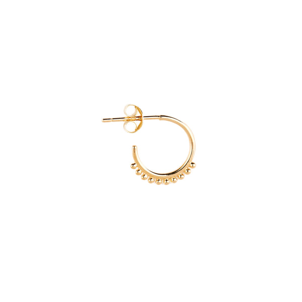 By Charlotte Cherish Hoop Earrings Silver Gold or Rose
