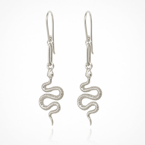 Temple of the Sun Camila earrings, silver