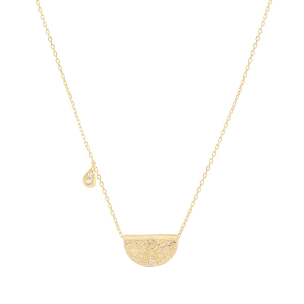 By Charlotte Shine Brightly necklace (April), gold