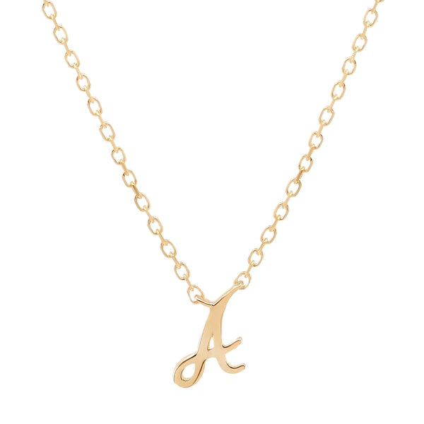 By Charlotte 14k Gold Love Letter Initial necklace
