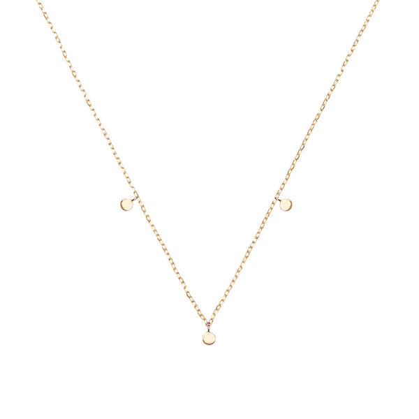 By Charlotte 14k gold Lunar Necklace