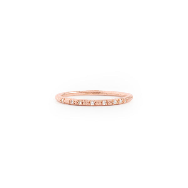 By Charlotte Illuminate Ring, Rose Gold