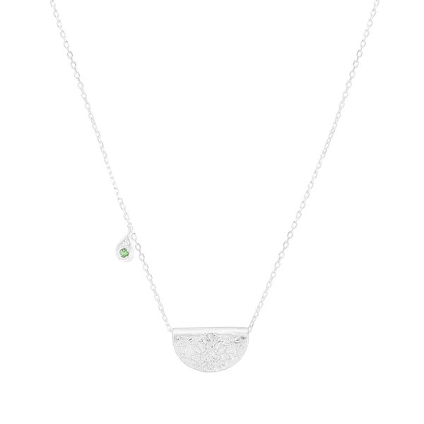 By Charlotte Nurture Your Heart necklace (May), silver