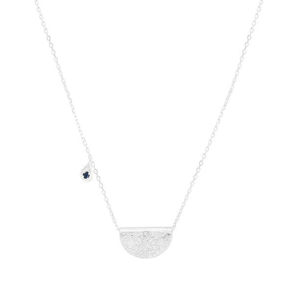 By Charlotte Radiate Live With Devotion necklace (September), silver