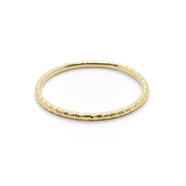 Natalie Marie Fine Faceted Band, Gold