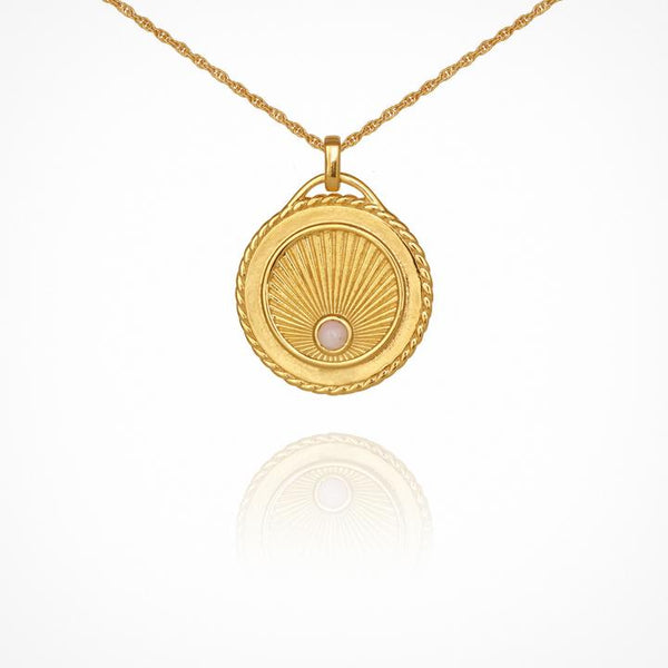 Temple of the Sun Aadi Necklace, Gold