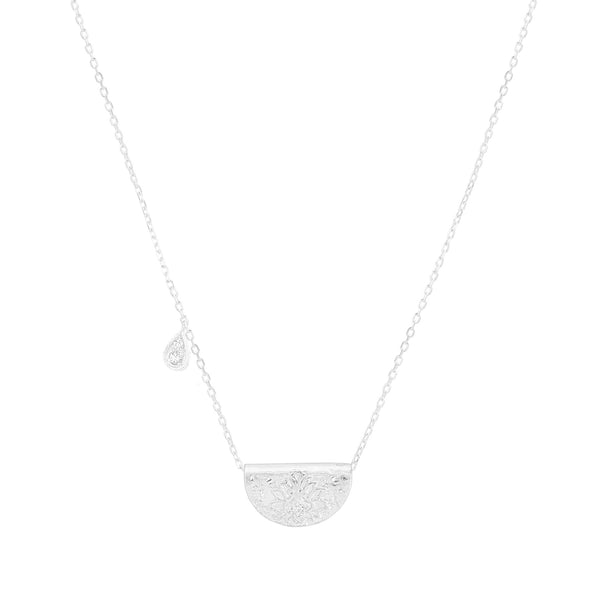 By Charlotte Shine Brightly necklace (April), silver