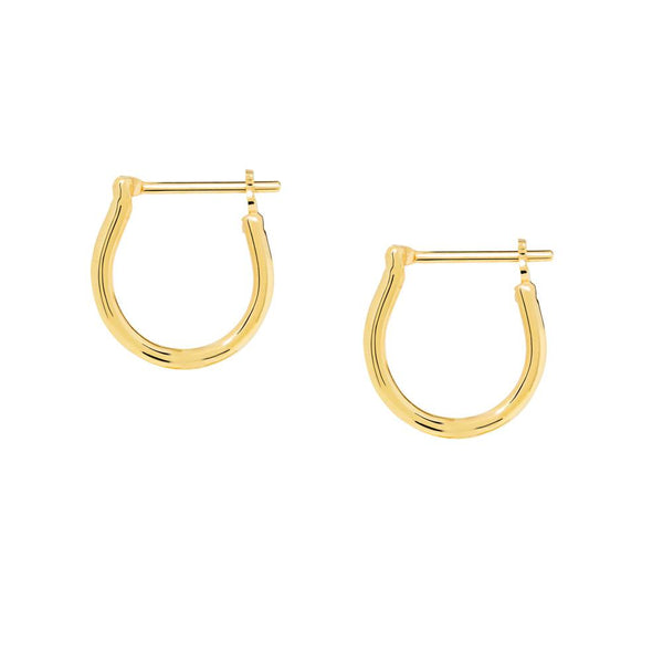Linda Tahija Basic Hoop Earrings, Gold