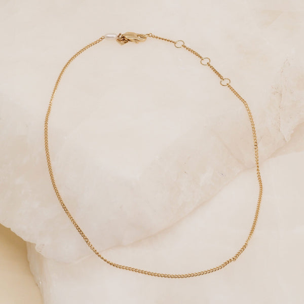 By Charlotte 14k Gold Purity Anklet