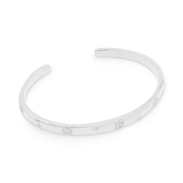 By Charlotte Align Your Soul Cuff, Silver