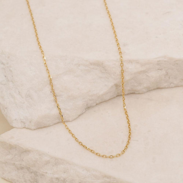By Charlotte Chain Necklace: Gold/ Rose Gold/ Silver