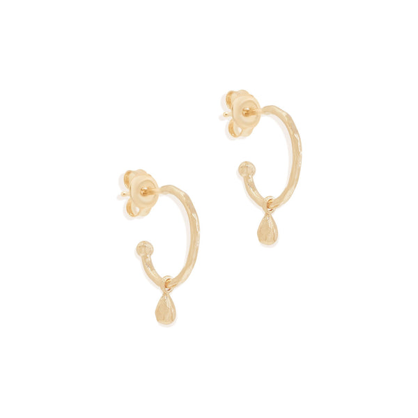 By Charlotte Divine Grace Hoops, Gold