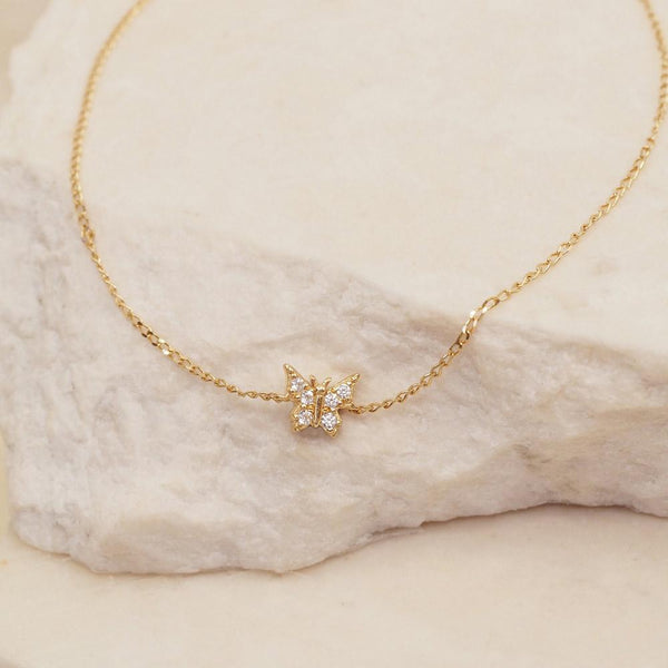 By Charlotte 14k Gold Fly With Me Bracelet