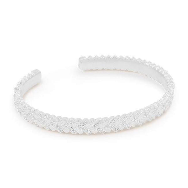 By Charlotte Dream Weaver Cuff, Silver