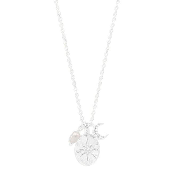 By Charlotte Dream Weaver Necklace, Silver