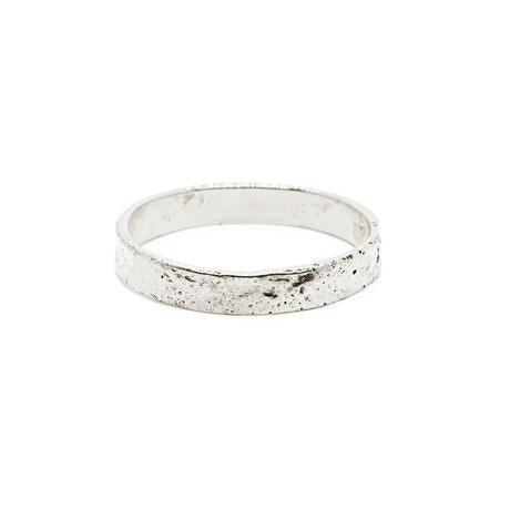 Natalie Marie Fine Naum Stacking Ring, silver
