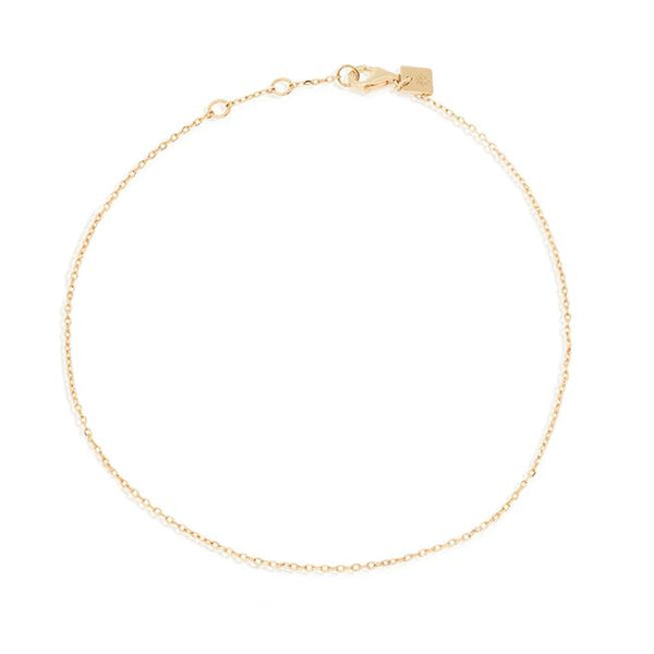 By Charlotte Infinity Anklet, Gold
