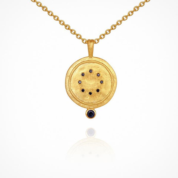 Temple of the Sun Issi Necklace, Gold
