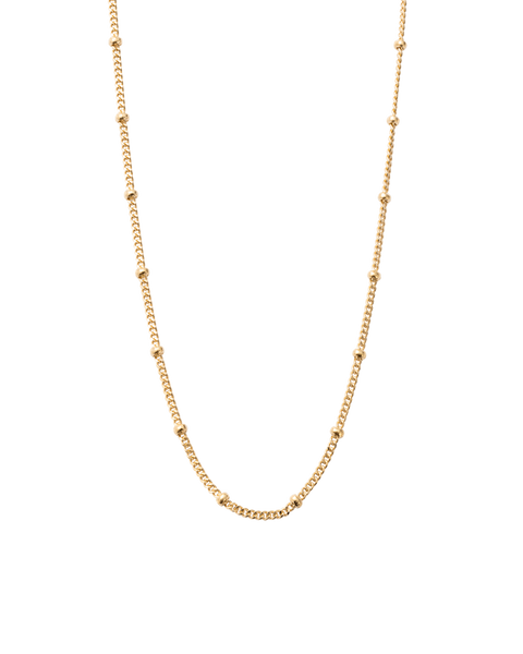 Kirstin Ash Ball Chain, gold