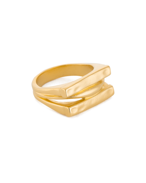 Kirstin Ash Elements Ring, Gold