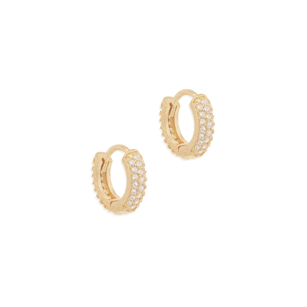 By Charlotte Light Catcher Hoops, Gold