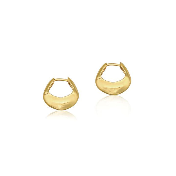 Linda Tahija Tote Hoop Earrings, Gold