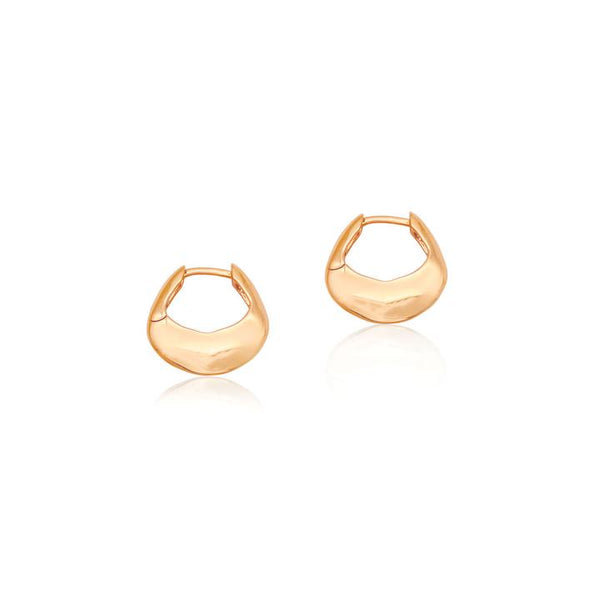 Linda Tahija Tote Hoop Earrings, Rose Gold