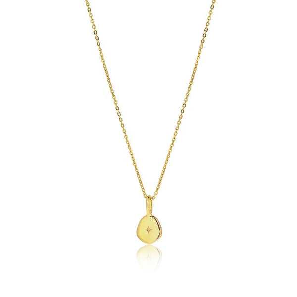 Linda Tahija Vega Necklace, Gold